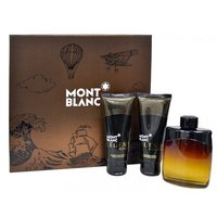 Mont Blanc Legend Night Мъжки Комплект - EdP 100 мл + автършейв балсам 100 мл + душ гел 100 мл