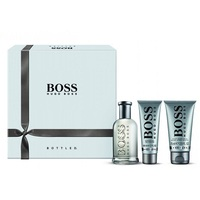 Hugo Boss Boss BOTTLED Мъжки Комплект - EdT 100 ml + автършейв балсам 75 ml + душ гел 50 ml