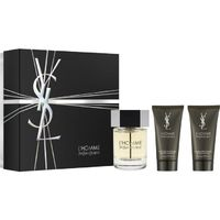Yves Saint Laurent L'Homme Мъжки Комплект - EdT 100 ml + автършейв балсам 50 ml + душ гел 50 ml