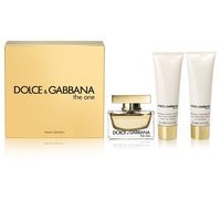 Dolce & Gabbana THE ONE Дамски Комплект Set - edp 75 ml + b/lot 50 ml + sh/gel 50 ml